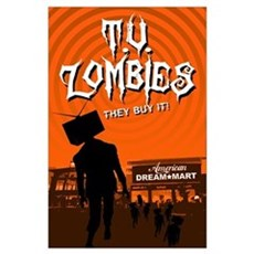 T.V. Zombies Poster