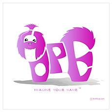 Hope Pink Shihtzu Poster