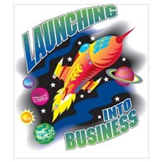 Launching into Business Poster