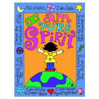 Spirit Girl Canvas Art