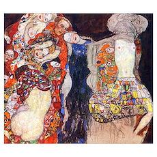 Gustav Klimt Adorn the Bride Medium Poster