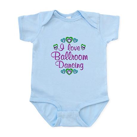 I Love Ballroom Infant Bodysuit
