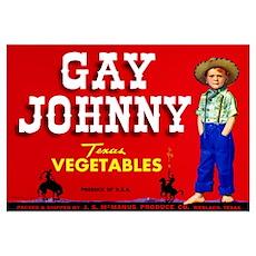 Gay Johnny Poster