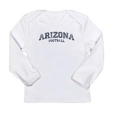 Arizona Football Long Sleeve Infant T-Shirt