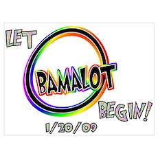 Let Obamalot begin! Poster