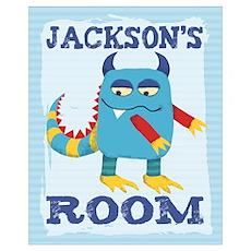 Jackson's ROOM Mallow Monster Poster