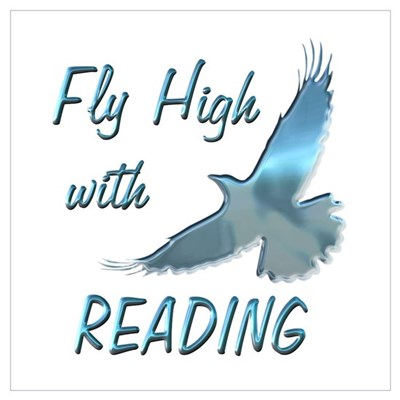 Fly with Reading Poster