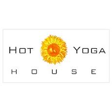 hot yoga house shirt Poster