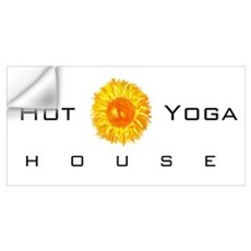 hot yoga house shirt Wall Decal