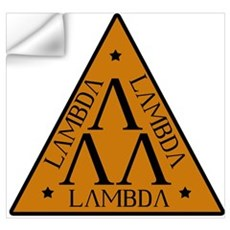 Lambda Lambda Lambda Wall Decal