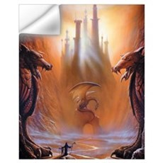 Dragon Lost Wall Decal