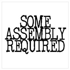 Some Assembly Required Poster