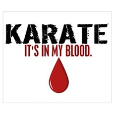 In My Blood (Karate) Poster