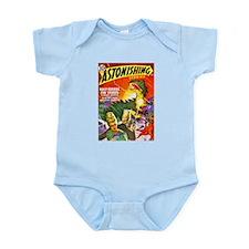 Dragon Science Fiction Cover Art Infant Bodysuit