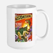 Dragon Science Fiction Cover Art Mug