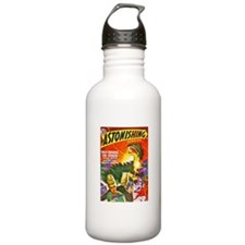 Dragon Science Fiction Cover Art Water Bottle