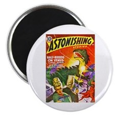 """Dragon Science Fiction Cover Art 2.25"""" Magnet (10"""