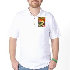 Dragon Science Fiction Cover Art T-Shirt