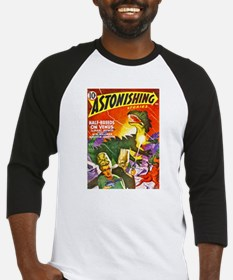 Dragon Science Fiction Cover Art Baseball Jersey