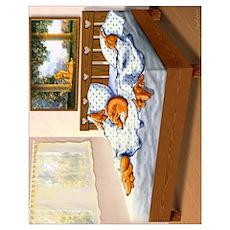 Dachshunds Sleep In Poster
