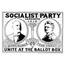 Vintage Eugene Debs Campaign P