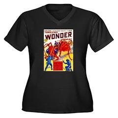 Wonder Giant Ant Cover Art Women's Plus Size V-Nec