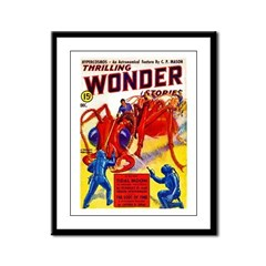 Wonder Giant Ant Cover Art Framed Panel Print