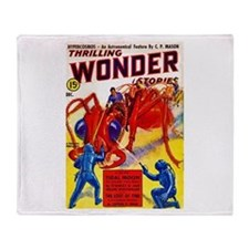 Wonder Giant Ant Cover Art Throw Blanket