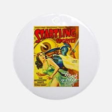 Startling Giant Killer Cover Art Ornament (Round)