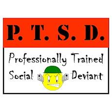 P.T.S.D. Poster