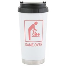 New Dad to be - Game over Dia Travel Mug
