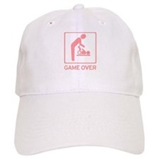 New Dad to be - Game over Dia Baseball Cap
