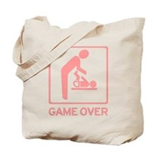 New Dad to be - Game over Dia Tote Bag