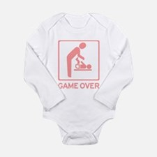 New Dad to be - Game over Dia Long Sleeve Infant B