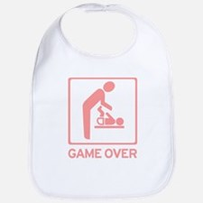 New Dad to be - Game over Dia Bib