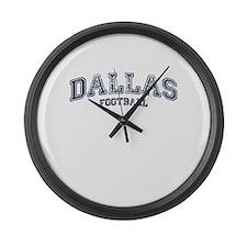 Dallas Football Large Wall Clock