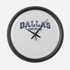 Dallas Football Large Wall Clock