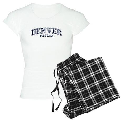 Denver Football Women's Light Pajamas