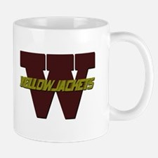 W-With-Yellowjackets-V1 Mugs