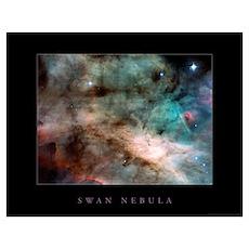 "Swan Nebula <br>(28"" x 22"") Poster"