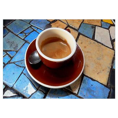 espresso cup Poster