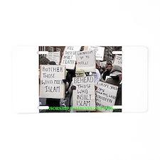 censorship Aluminum License Plate