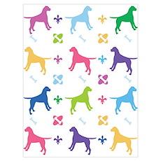 American Bulldog Designer Poster