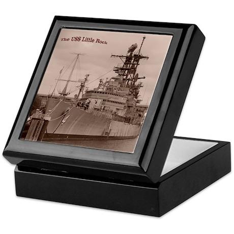 USS Little Rock Keepsake Box