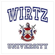 WIRTZ University Poster