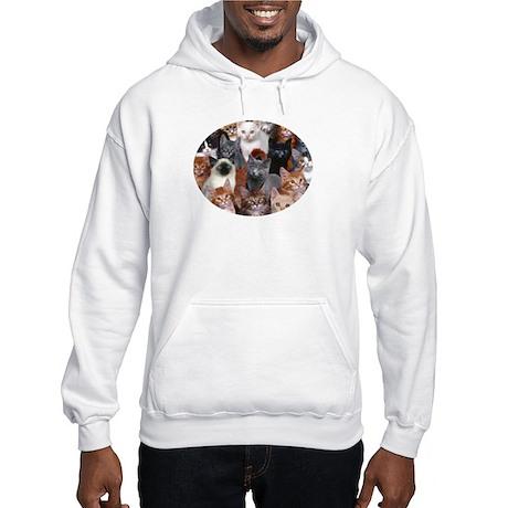16 Cats - Hooded Sweatshirt
