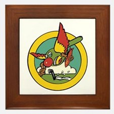 2nd Sea Search Attack Squadron Insignia Framed Til