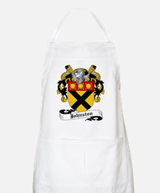 Johnston Coat of Arms BBQ Apron