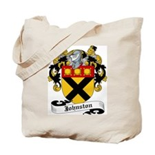 Johnston Coat of Arms Tote Bag