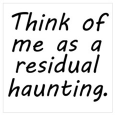 Residual Haunting Framed Print